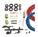 Conversion kit for wire-bound lorry