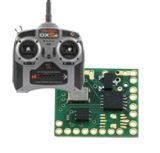 2,4 GHz Empfaenger DSM2 / DSMX