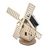 Solar wooden building kits