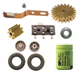 Spare parts for car systems