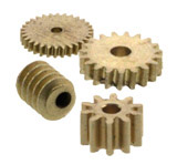 Screws and cog wheels