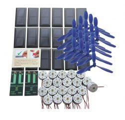 Klassensatz Solarantrieb basic I - Schraubanschluss, mit Luftschraube