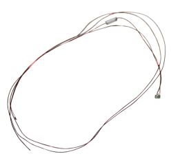 Leuchtdiode 0603, warmweiss, mit Kabel, 12-18 V