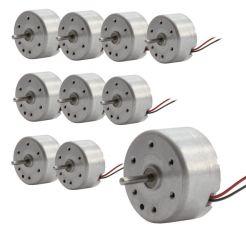 Solar-und Leichtlaufmotor RF300CAS,10er Set, Achswellenlänge 10 mm