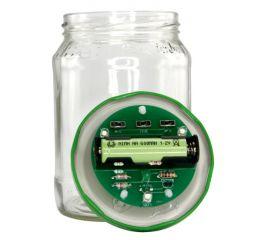Lötbausatz für Solar Gurkenglaslampe