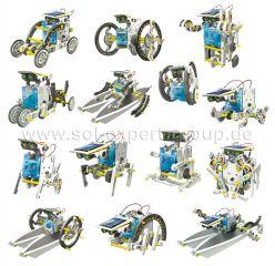14in1, 14 unterschiedliche Solar Roboter, Bausatz