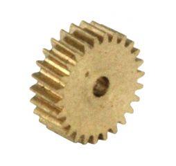 Zahnrad, 26 Zähne, Modul 0.2, für Schnecke