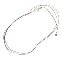 LED 0201, rot, 3.7 - 4.8 V, mit Kabel und Widerstand