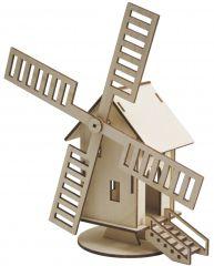 Holz-Windmühle Amsterdam
