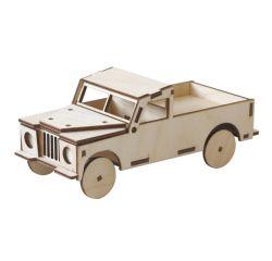 Holzauto Landrover Pritsche