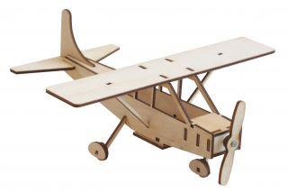 Holzflugzeug Cessna