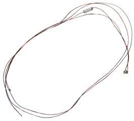 Leuchtdiode 0603, grün mit Kabel, 3,7-4,8 V