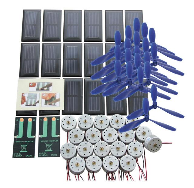 Kit de classe entraînement solaire de base I avec soudure et hélice