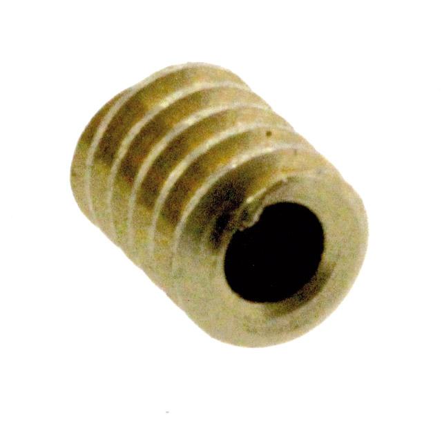 Vis S38, module M0.3, alésage 0.8 mm
