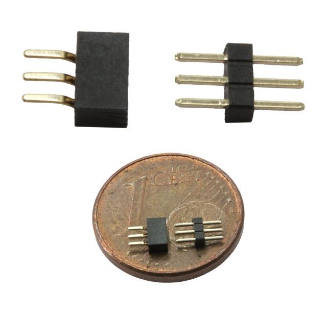 Mikro-Steckverbindung BS31, 3 polig, 1 mm Raster
