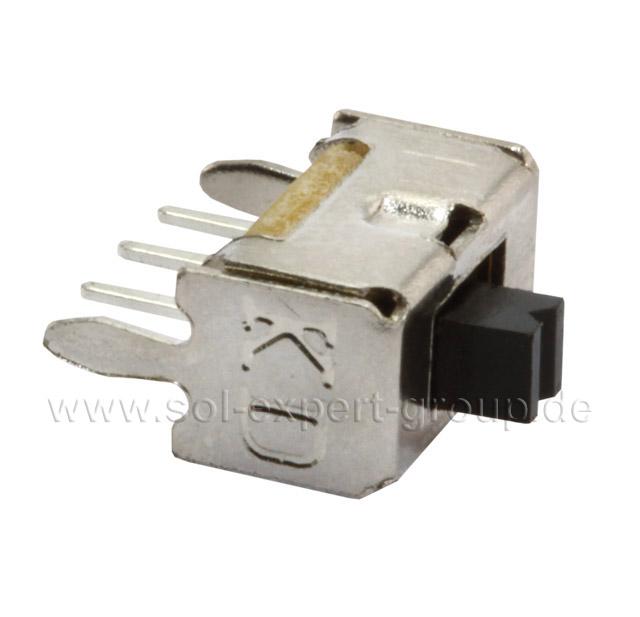 Mini-Schiebschalter SUM3 im Metallrahmen