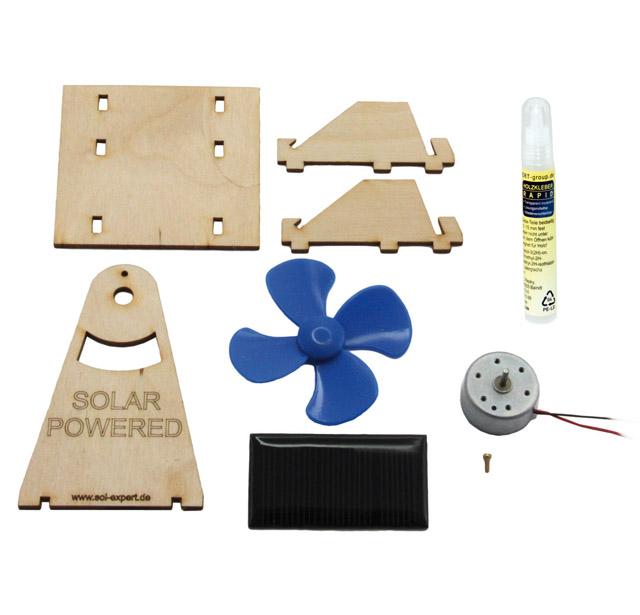 Solar Lüfter, Bausatz