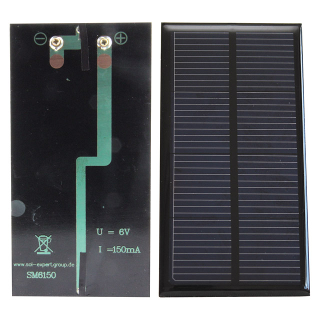 Module solaire SM6150, 6 volts, 150 mA
