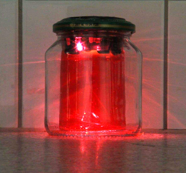Lötbausatz für Solar Gurkenglaslampe, Klassensatz mit 10 Stck.