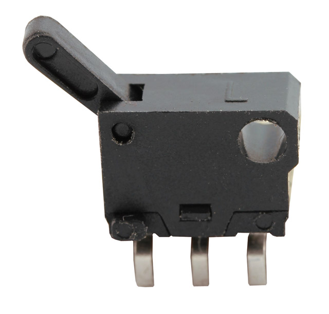 Mikroschalter MX-001A-01, dreipolig, 100 mA