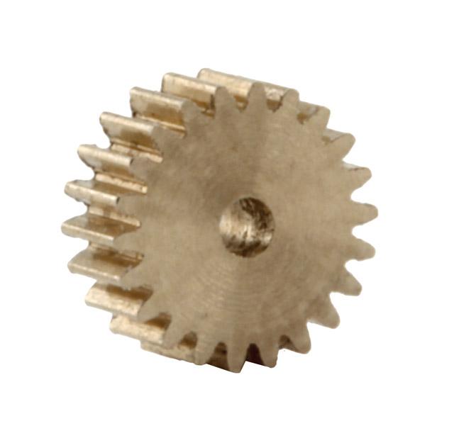 Zahnrad, 22 Zähne, Modul 0.2