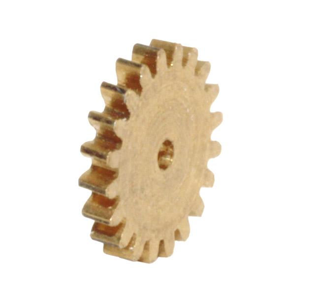 Zahnrad, 20 Zähne, Modul 0.3, für Schnecke