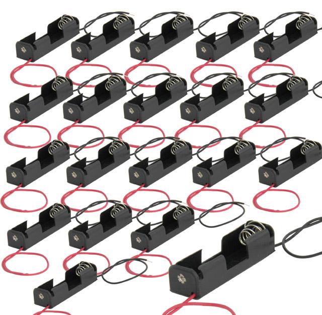Batterie oder Akkuhalter für Typ Mignon AA, 20 Stck. im Set