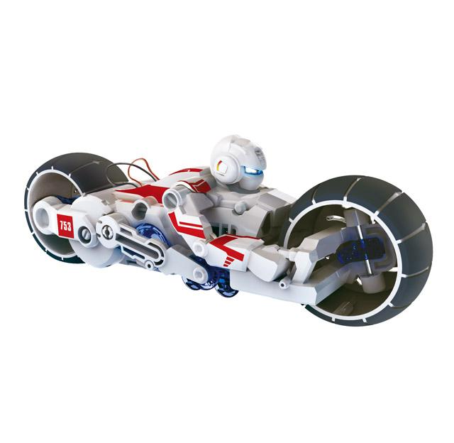 Motorrad mit ökologischem Salzwasserantrieb, Bausatz