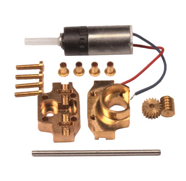 Mikrogetriebe G95B für 1:87 LKW-Antriebe und mehr, Bausatz