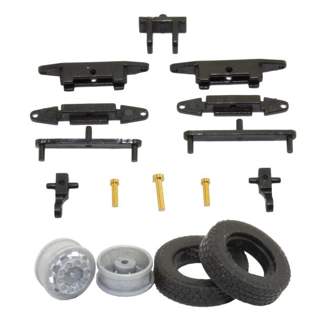 1:87 LKW Lenkungs-Bausatz für Car-System Fahrzeuge oder RC Modelle