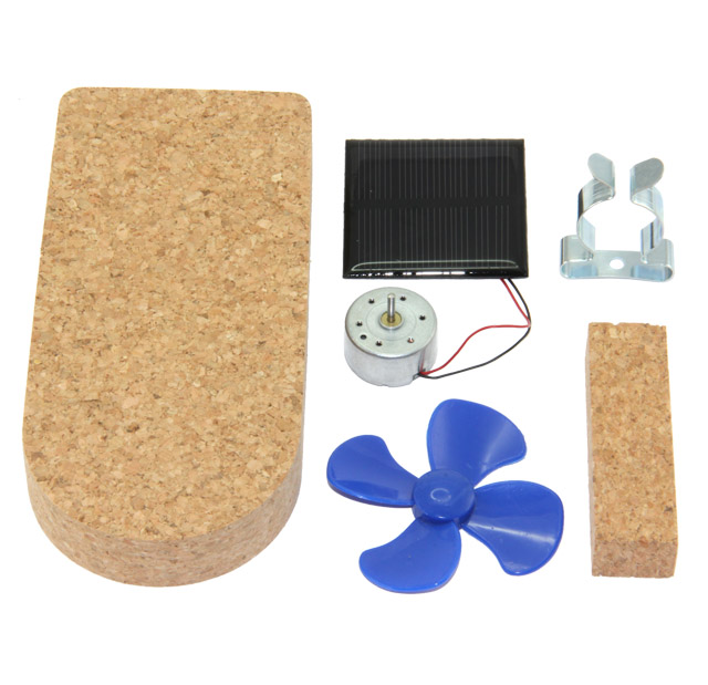 Solar boat Airstream, solder kit