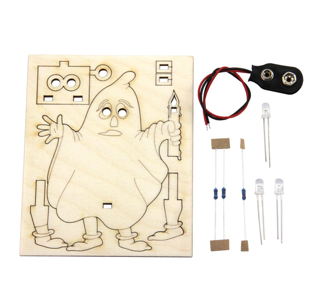 Ghost Willi, solder kit for beginners