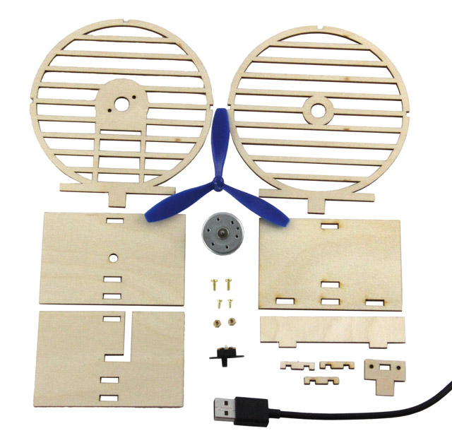 Ventilateur USB, kit Loet