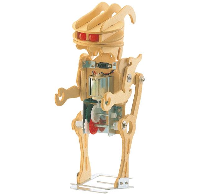 Wooden kit robot