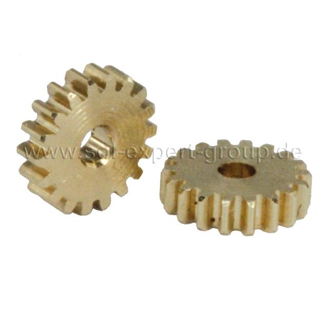 Gear, 18 teeth, module 0.2