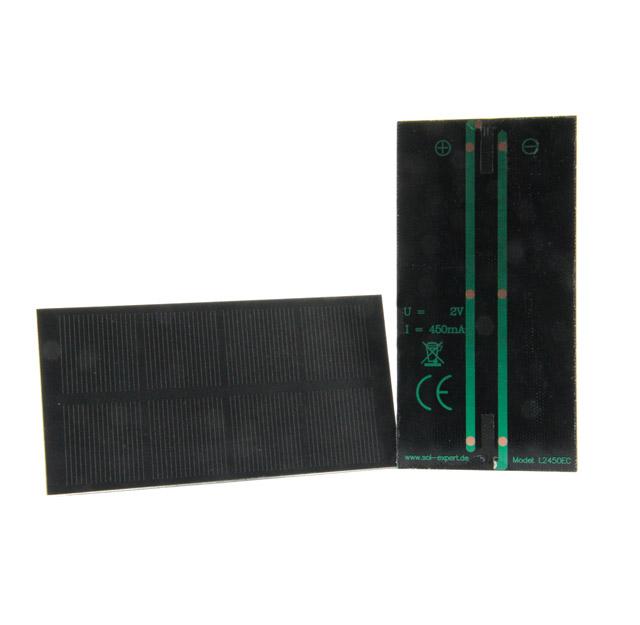 Solarmodul L2450, zum Löten, 450mA,2 Volt