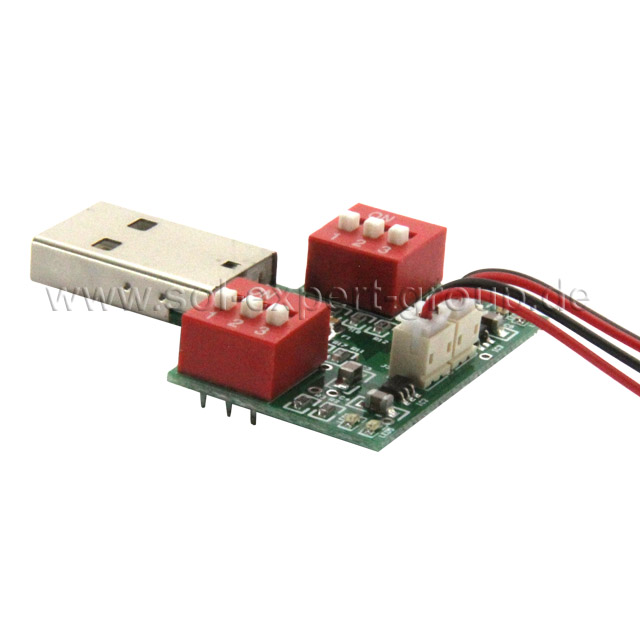 DOUBLE USB LIPO LOADING BOARD, 20 - 1000 mAh