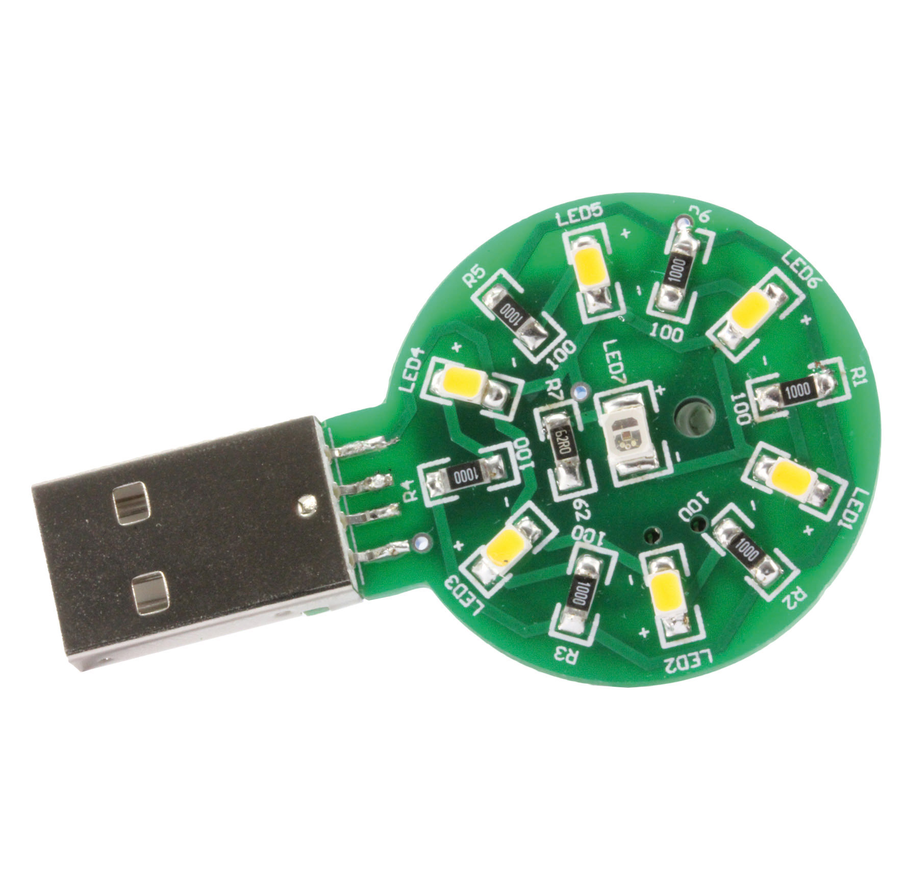 SMD parts kit torch for USB port