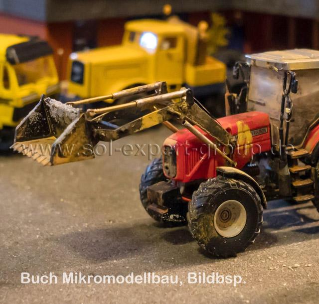 Mikromodellbau Buch - Forst- und Landmaschinen, RC 1:87