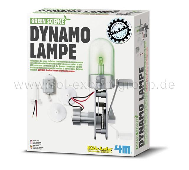 Green Science - Dynamo Lampe