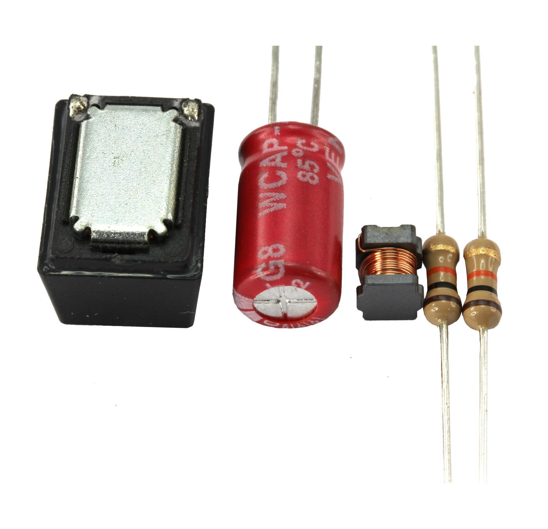 Mikro-Lautsprecher mit Bauteilesatz für Beschaltung
