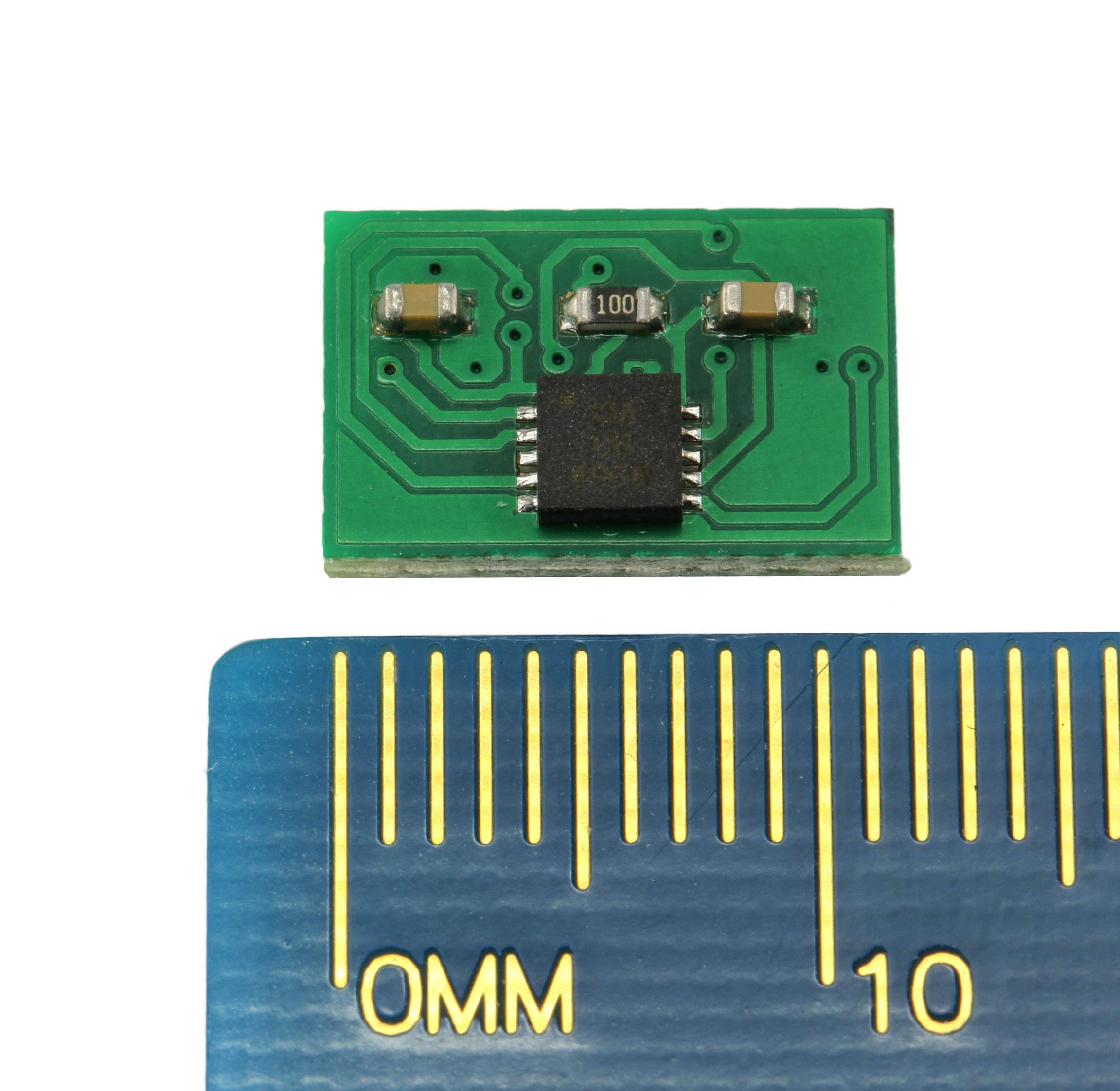 Lichtbaustein MicroALF, kleinste Abmessungen – komfortable Bedienung