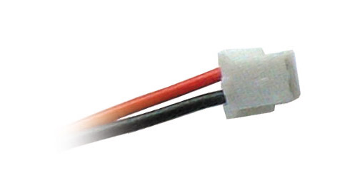 JST plug connector 2-pin, high-flexibility