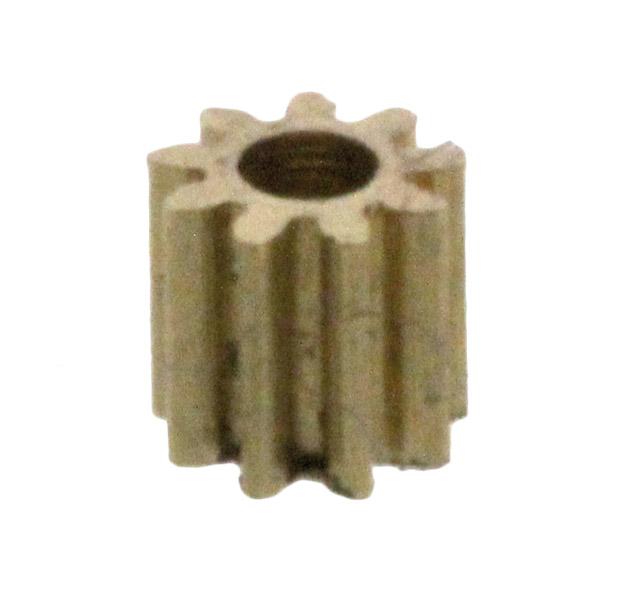 Zahnrad, 9 Zähne, Modul 0.2