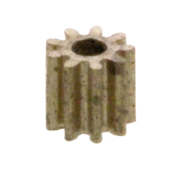 Zahnrad, 10 Zähne, Modul 0.2