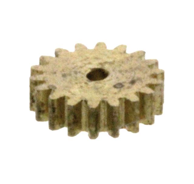 Zahnrad, 19 Zähne, Modul 0.2