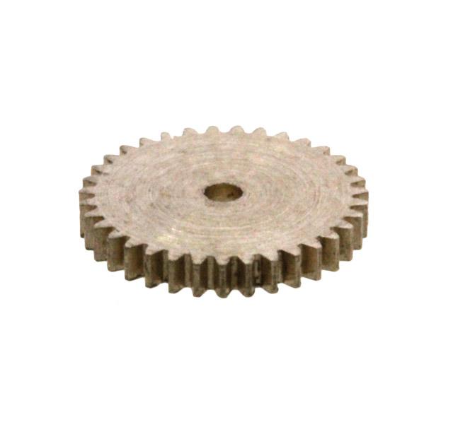 Zahnrad, 35 Zähne, Modul 0.2