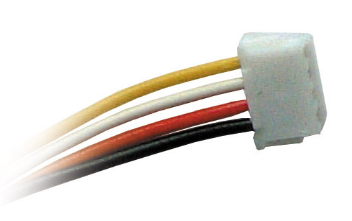 JST-Stecker 4-polig, hochflexibel