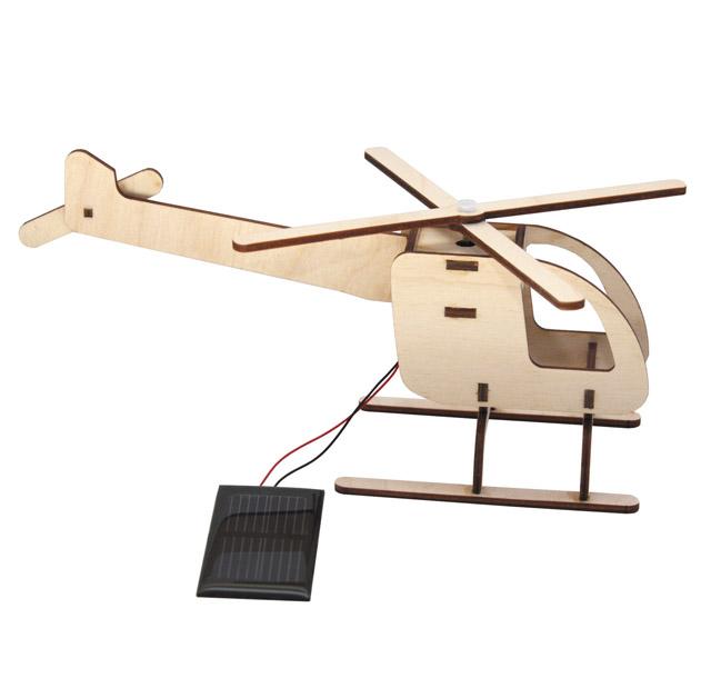 Solar-Steckhubschrauber