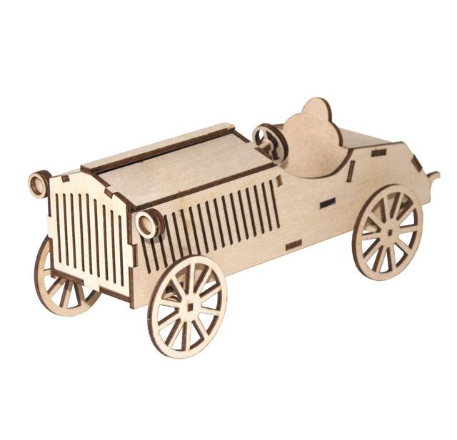 Holzauto Fiat Rennwagen